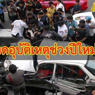 จ.มหาสารคาม สรุปผลป้องกันและลดอุบัติเหตุทางถนนช่วงเทศการปีใหม่ 2562